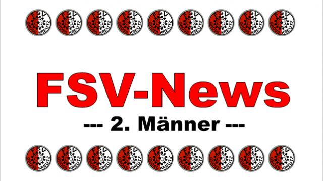 FSV News 2. Männer