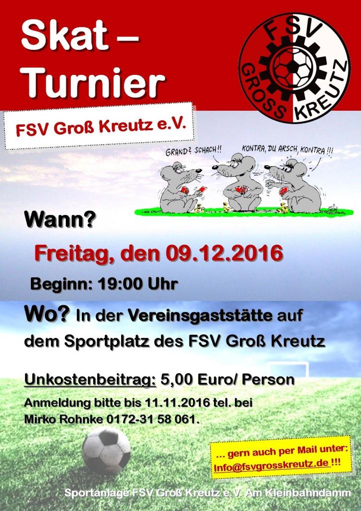 Skat Turnier_FSV_09.12.2016
